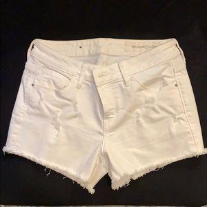 Treasure & Bond White Jean Shorts Size 25